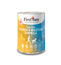 First Mate First Mate Dog Chicken and Tuna 12.2oz