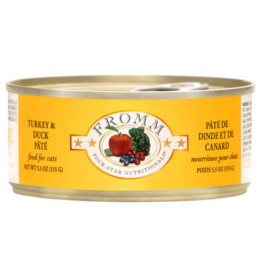 Fromm Family Foods Fromm Cat Turkey and Duck Pate 5.5oz