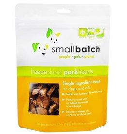 SmallBatch Pets SmallBatch Freeze Dried Pork Heart 3.5oz