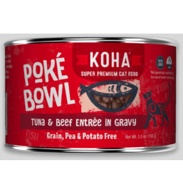 Koha Pet Koha Cat Poke Bowl Tuna Beef Can 5.5oz