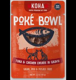 Koha Pet Koha Cat Poke Bowl Tuna Chicken Pouch 3oz
