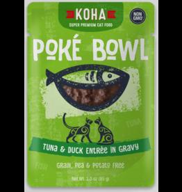Koha Pet Koha Cat Poke Bowl Tuna Duck Pouch 3oz