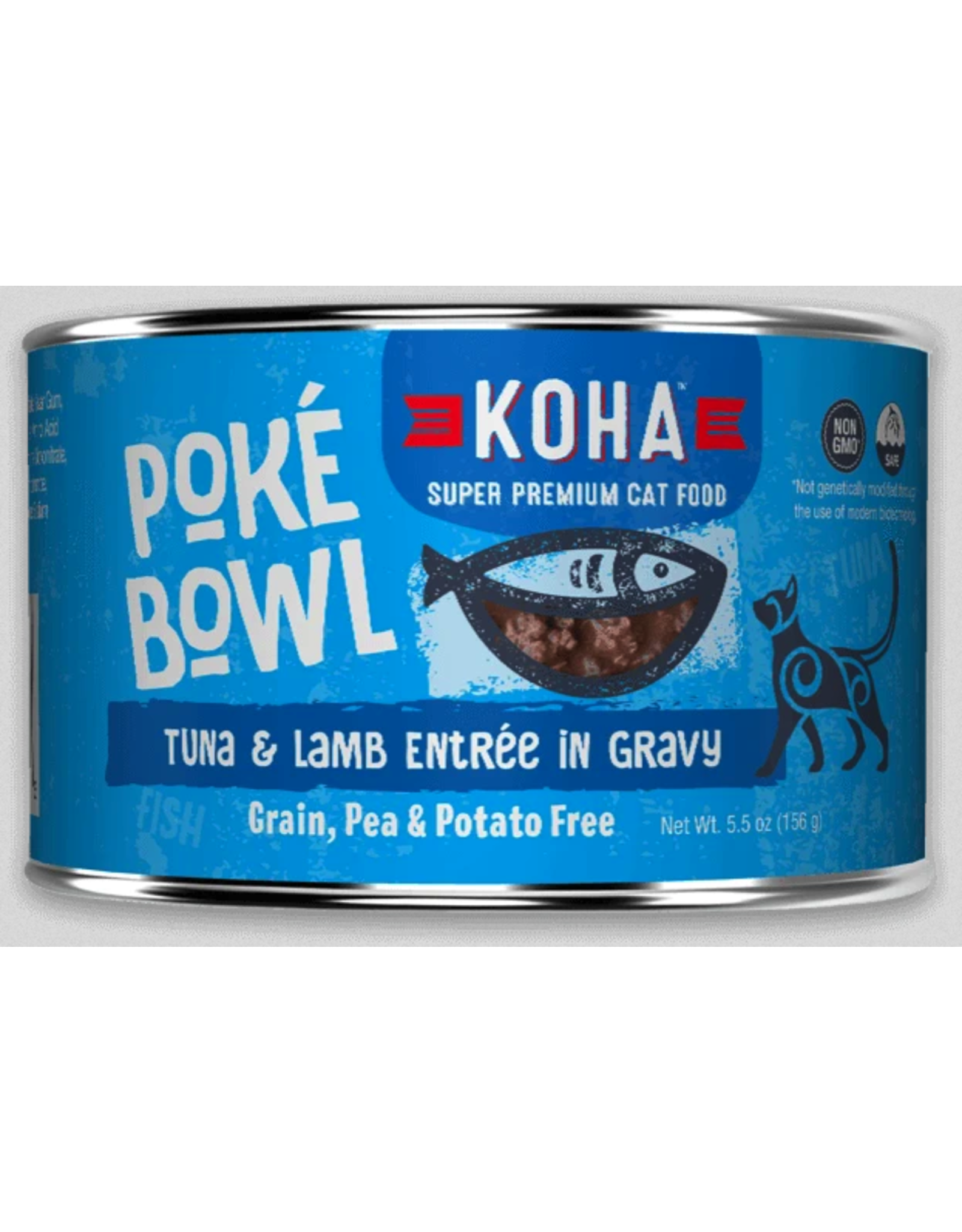 Koha Pet Koha Cat Poke Bowl Tuna Lamb Can 5.5oz