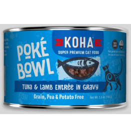 Koha Pet Koha Cat Poke Bowl Tuna Lamb Can 5.5oz