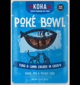 Koha Pet Koha Cat Poke Bowl Tuna Lamb Pouch 3oz