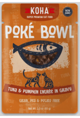 Koha Pet Koha Cat Poke Bowl Tuna Pumpkin Pouch 3oz