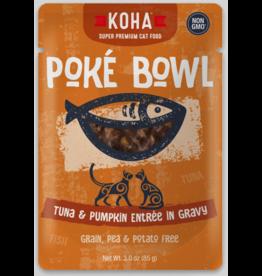 Koha Pet Koha Cat Poke Bowl Tuna Pumpkin Pouch 3oz