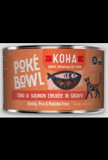 Koha Pet Koha Cat Poke Bowl Tuna Salmon Can 5.5oz