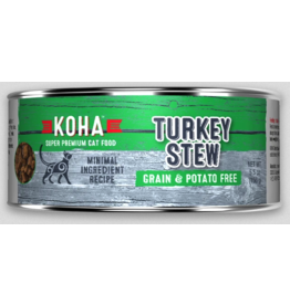 Koha Pet Koha Cat Turkey Stew 5.5oz