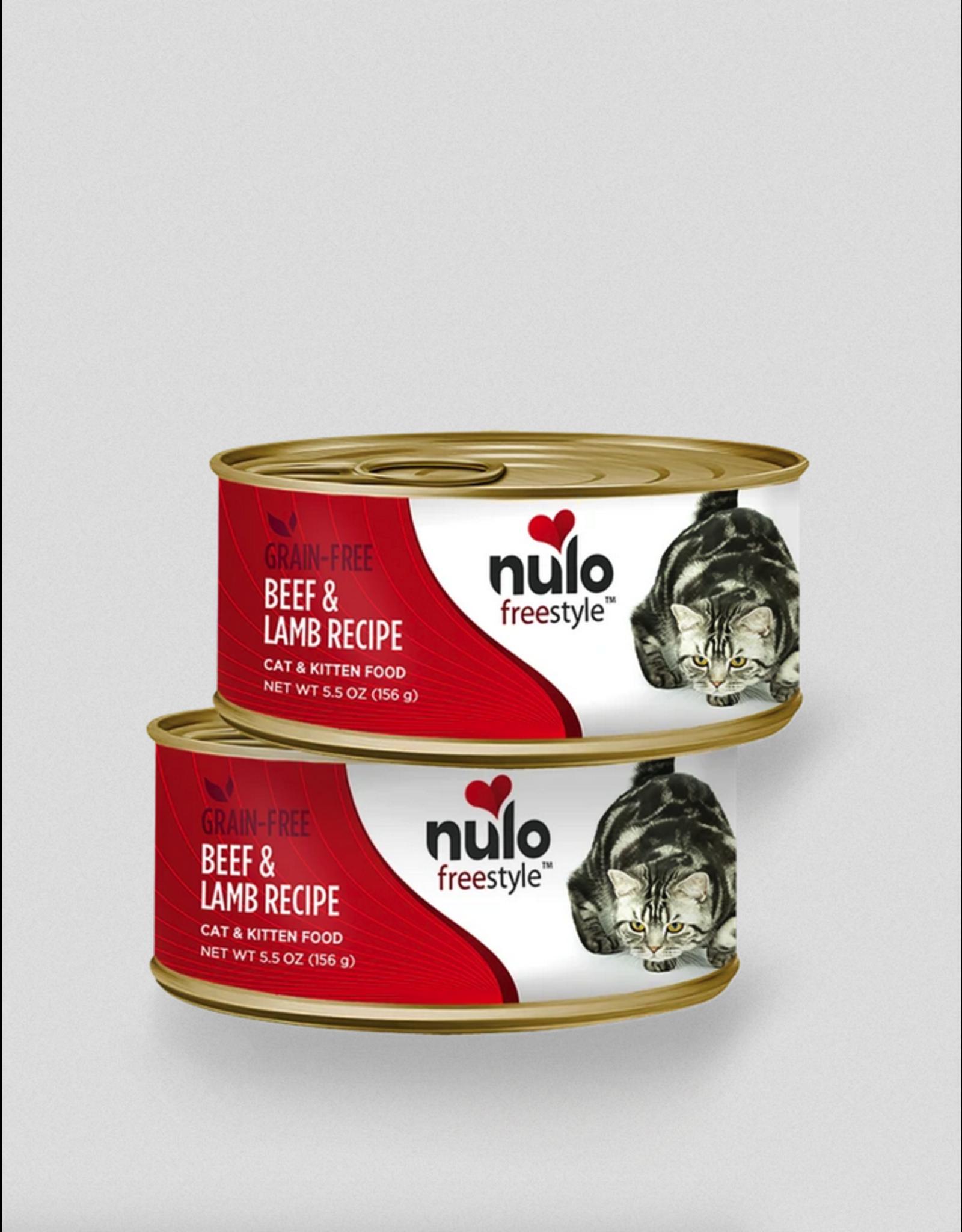 Nulo Nulo Cat Beef and Lamb 5.5oz