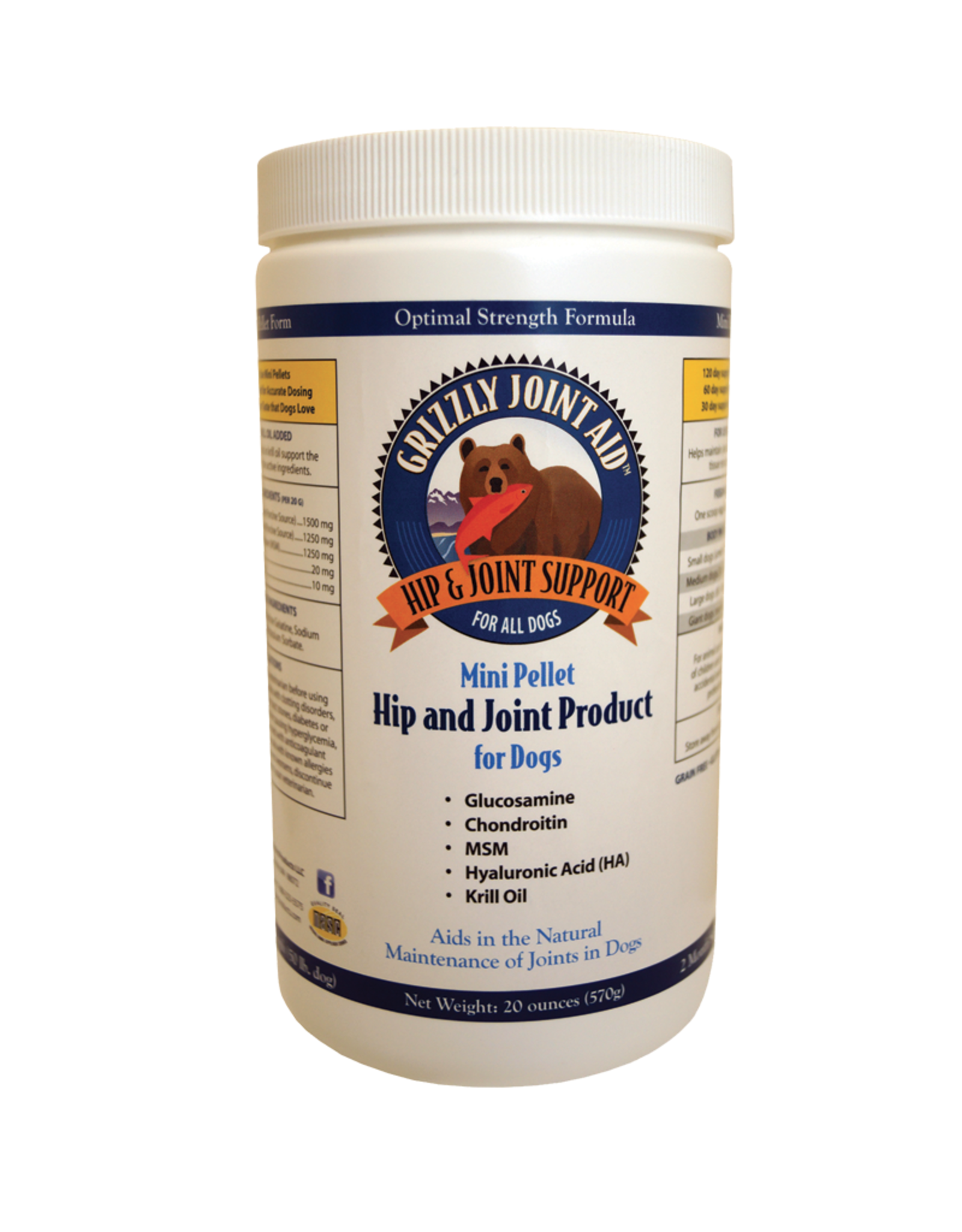 Grizzly Pet Products Grizzly Hip and Joint Pellets