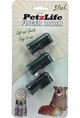 Petzlife Finger Toothbrush 3pack