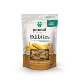 Pet Releaf Pet Releaf Edibites Peanut Butter and Banana Large Breed 7.5oz