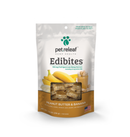 Pet Releaf Pet Releaf Edibites Peanut Butter and Banana 7.5oz