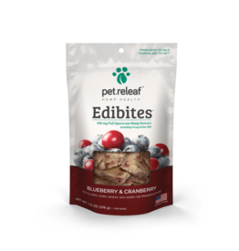 Pet Releaf Pet Releaf Edibites Blueberry and Cranberry 7.5oz