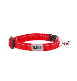 RC Pet RC Pet Primary Kitty Breakaway Collar Red with Bell
