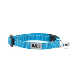 RC Pet RC Pet Primary Kitty Breakaway Collar Cyan with Bell