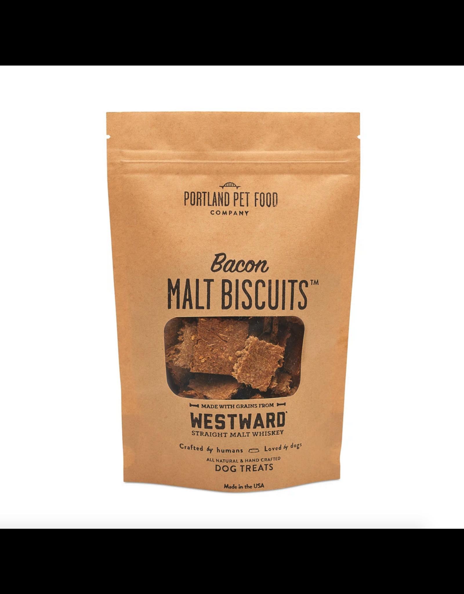 Portland Pet Food Company Portland Pet Food Company Bacon Malt Biscuits 5oz
