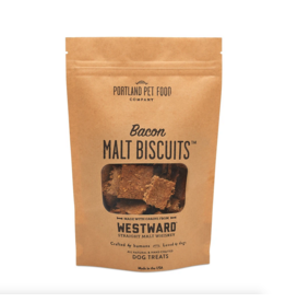 Portland Pet Food Company Portland Pet Food Company Bacon Malt Biscuits 5oz