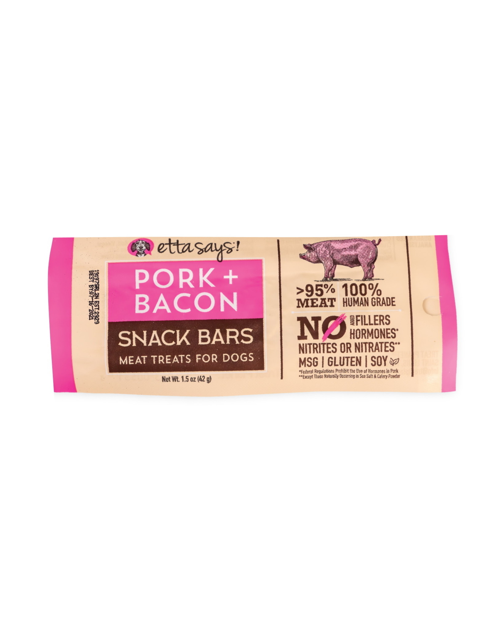 Treat Planet Etta Says Pork and Bacon Snack Bar