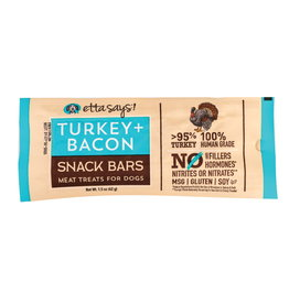 Treat Planet Etta Says Turkey and Bacon Snack Bar