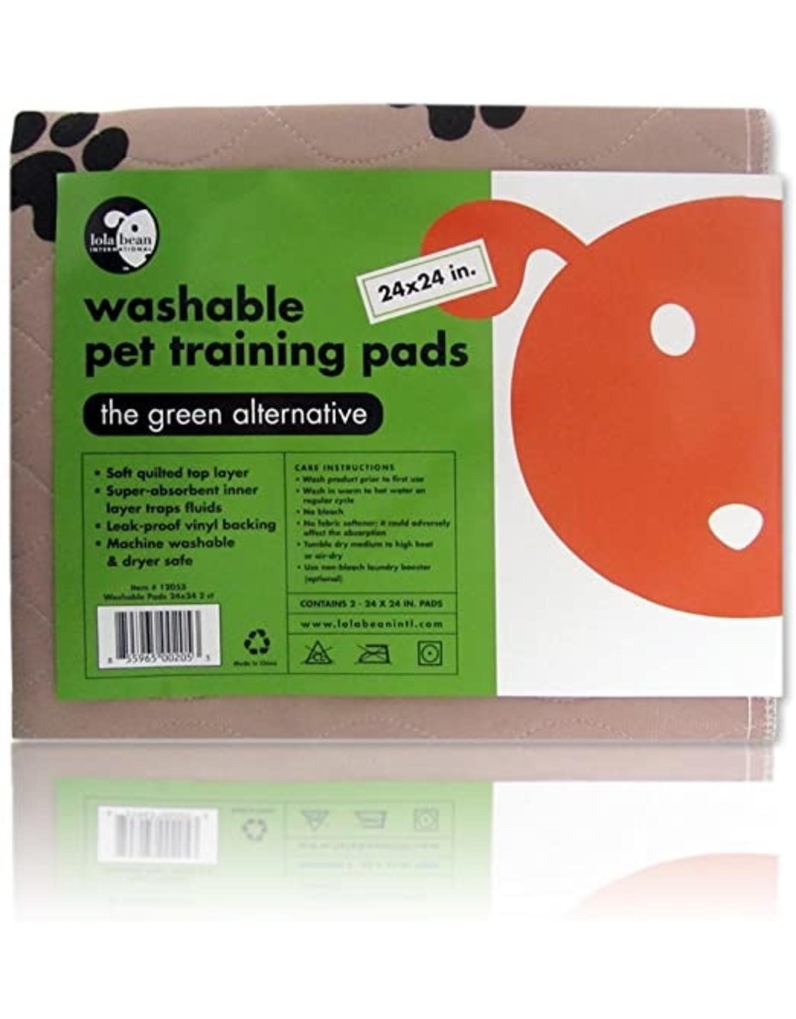 Lola Bean Washable Training Pad 24x24
