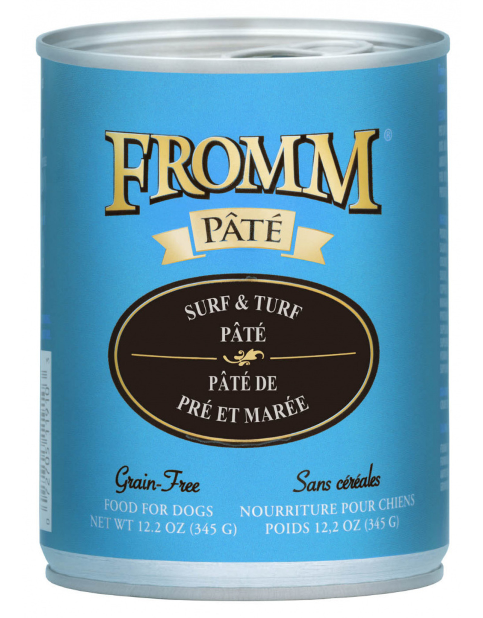 Fromm Family Foods Fromm Dog Surf and Turf Pate 12.2oz