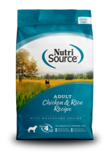 NutriSource Dog Adult Chicken and Rice Formula