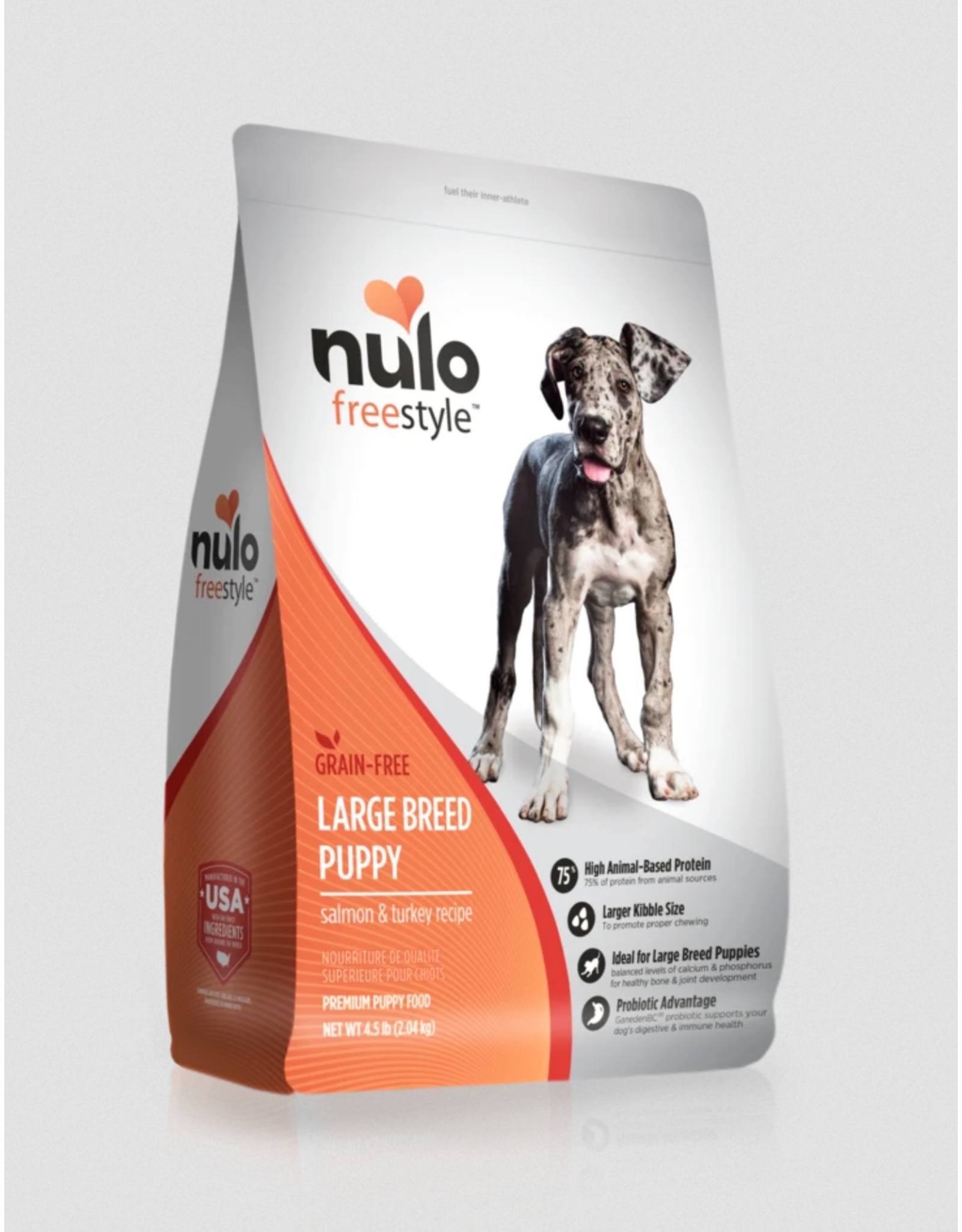 Nulo Nulo Large Breed Puppy Salmon and Turkey Recipe