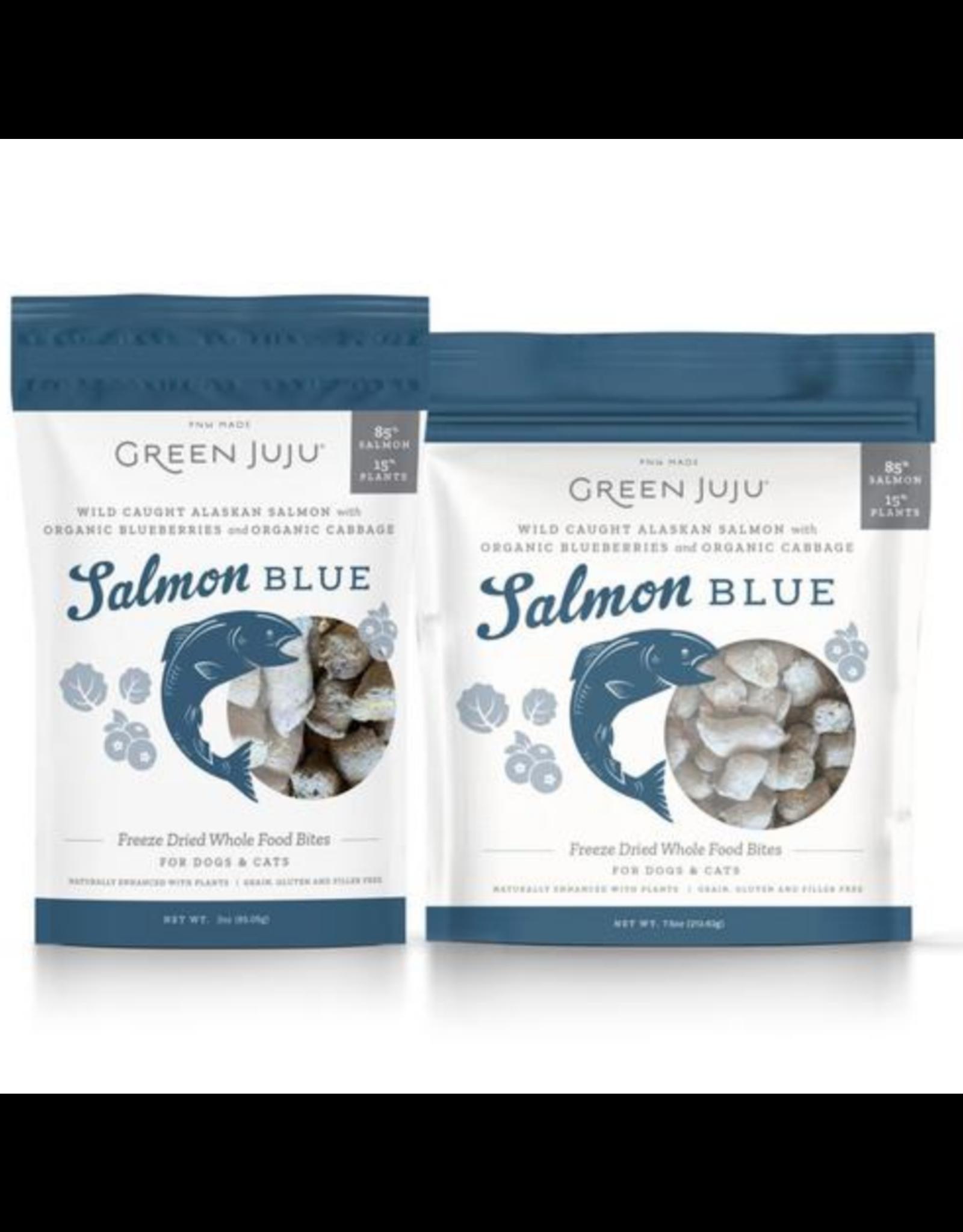 Green Juju Green Juju Salmon Blue Whole Food Bites
