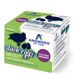 Answers Pet Food Answers Pet Food Raw Duck Eggs 4ct