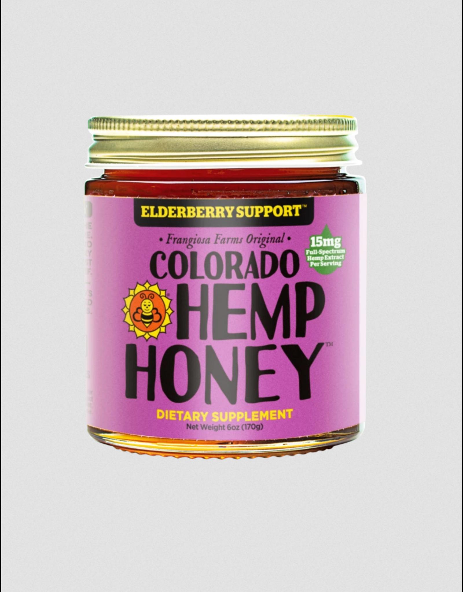 Colorado Hemp Honey Colorado Hemp Honey Elderberry Support 6oz