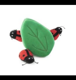 Zippy Paws Zippy Paws Burrow Ladybugs in Leaf