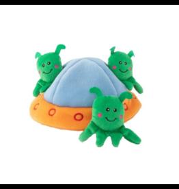 Zippy Paws Zippy Paws Burrow Aliens in UFO