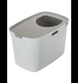 Moderna Moderna Top Entry Litter Box White/Grey