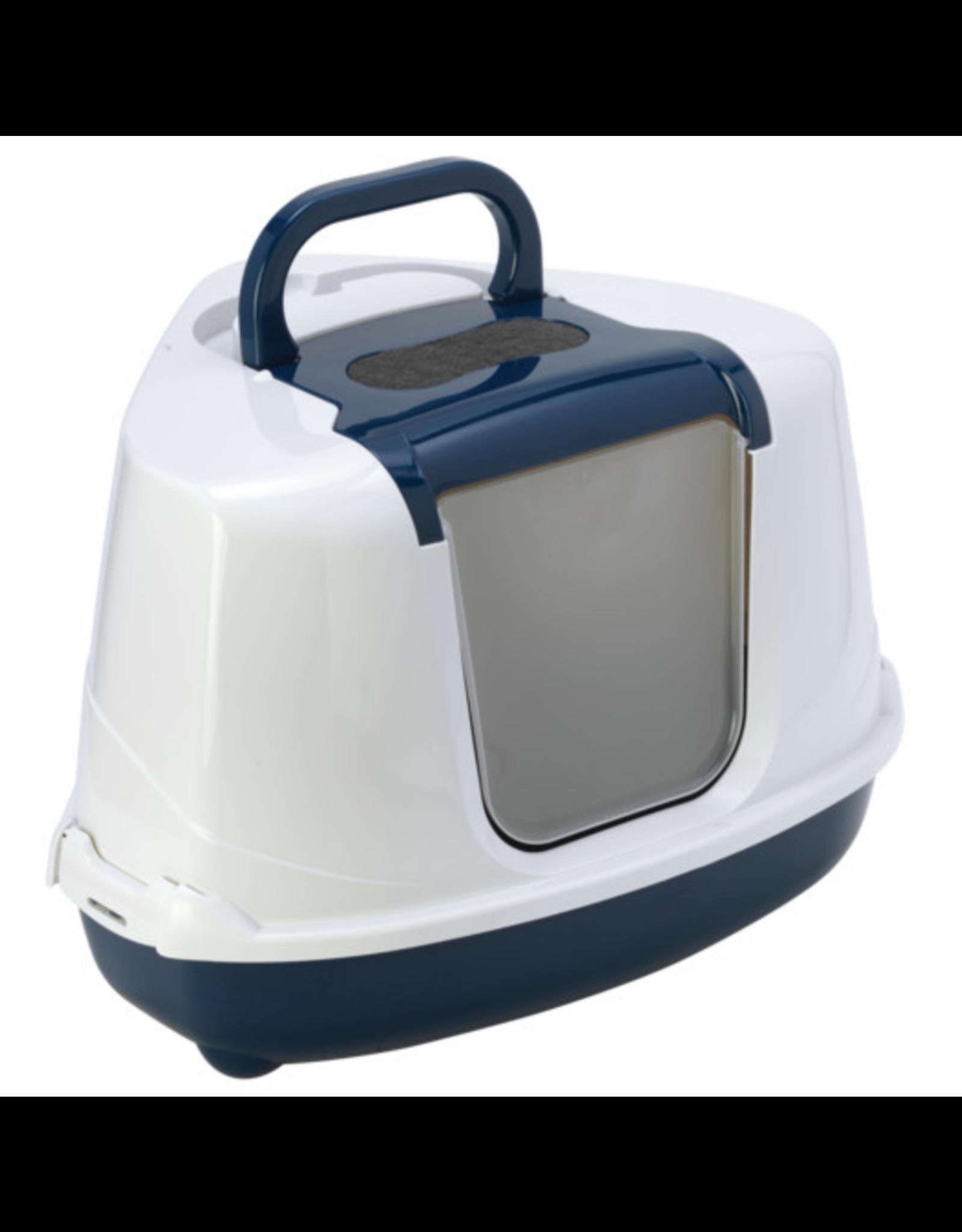 Moderna Moderna Flip Corner Litter Box Blue