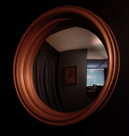 "Mirrors Cruyf 29"" Black Mirror"