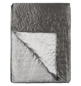 Designer's Guild Tiber Linen/Chalk Quilt 100x110