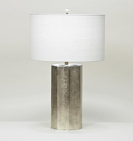 Flow Decor Edwards Table Lamp - Off White Linen Shade