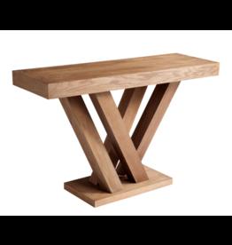 Sun Pan Madero Console Table Driftwood