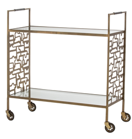 Arteriors Nicholas Bar Cart