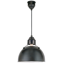 Visual Comfort Eugene Large Pendant Light in Bronze