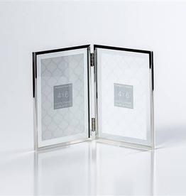 Torre & Tagus Hinged Double 4x6 Glass Frame