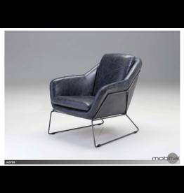 mobital Jasper Arm Chair Antique Black Leather