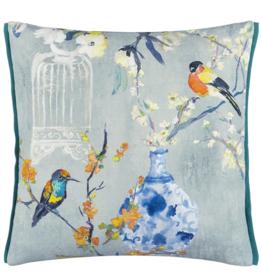 Designer's Guild DG Istoriato Zinc Decorative Cushion