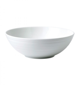 Wedgewood Jasper Conran White Strata China Cereal Bowl 6.7""