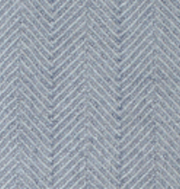 Linen Way Montreal Scarf Herringbone Pewter