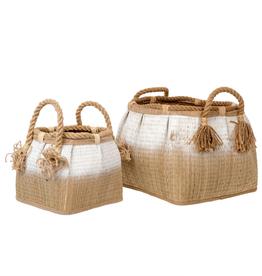 Indaba White Ombre Basket S