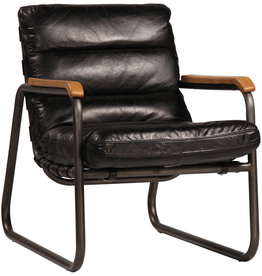 Dovetail Dovetail - Grayson Leather Chair
