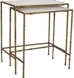 """Dovetail Dovetail - Calais Nest of Tables - set of 2 (22""""x14""""x24"""")"""